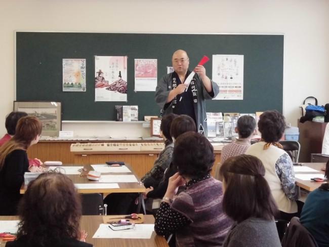 関島さんによる水引のお話です。