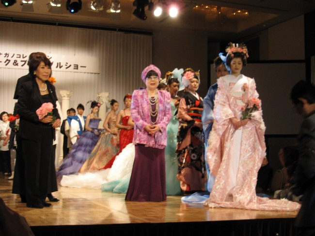 日本のブライダルを牽引する桂由美さんのステージは圧巻でした!